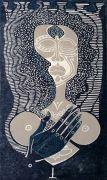 sans titre, bois gravé, 2011, 35 x 20 cm