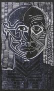 sans titre, bois gravé, 2006, 28 x 17 cm