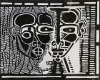 sans titre, bois gravé, 2006, 19 x 23 cm