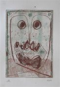 sans titre, bois gravé, 2005, 30 x 15 cm